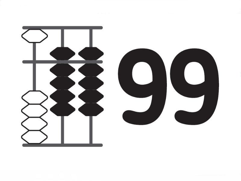 Флеш-карты от 0 до 999 для распечатывания (PDF)