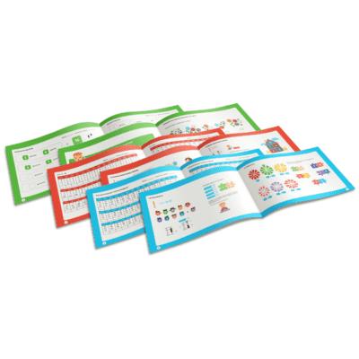 Годовой комплект учебников по ментальной арифметике (3 уровня)