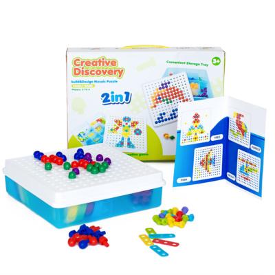 Мозаика пазлы Creative Discovery 2 в 1