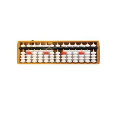 Абакус 13 рядов, белый с кнопкой сброса